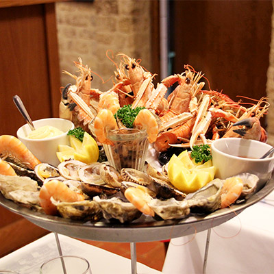 restaurant trouville fruits de mer