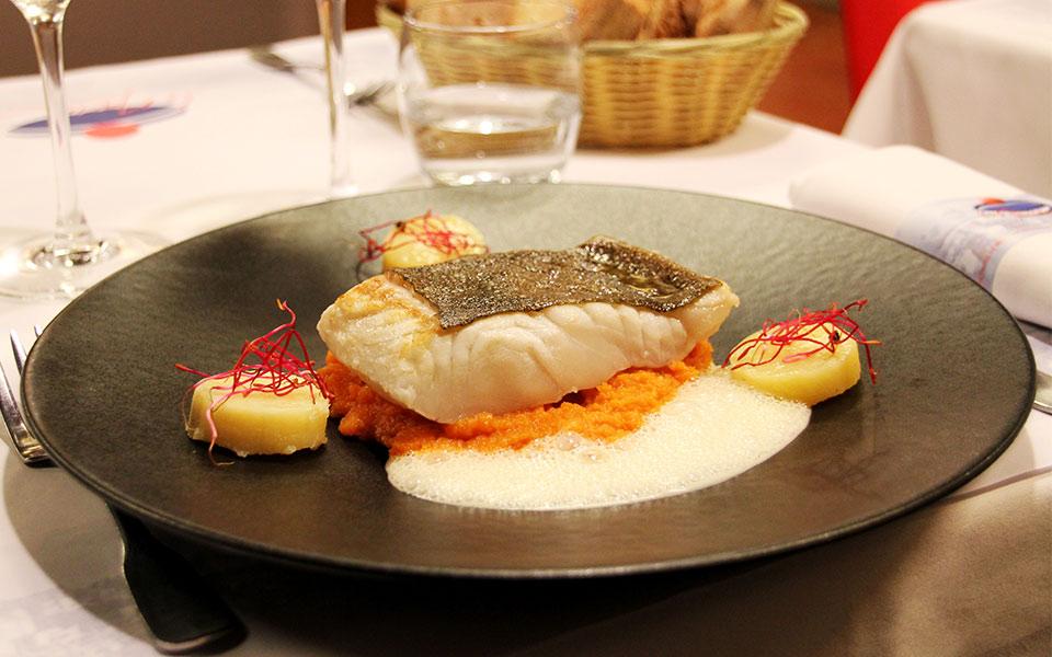 La marine restaurant trouville sp cialit s de fruits for Specialite normande cuisine